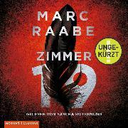 Cover-Bild zu Zimmer 19 (Audio Download) von Raabe, Marc