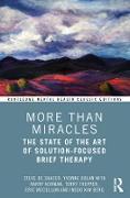 Cover-Bild zu More Than Miracles (eBook) von De Shazer, Steve