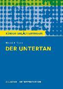 Cover-Bild zu Mann, Heinrich: Der Untertan von Heinrich Mann (eBook)