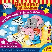 Cover-Bild zu eBook Benjamin Blümchen - Gute-Nacht-Geschichten - Folge 30: Viele kleine Schäfchenwolken