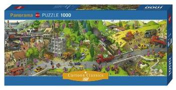 Cover-Bild zu Busy Day Puzzle 1000 Teile