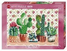 Cover-Bild zu Cactus Family Puzzle 1000 Teile