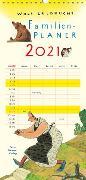 Cover-Bild zu Wolf Erlbruchs Familienplaner 2021 von Erlbruch, Wolf