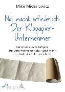Cover-Bild zu Not macht erfinderisch: Der Klopapier-Unternehmer (eBook) von Michalowicz, Mike