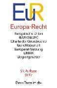 Cover-Bild zu Europa-Recht
