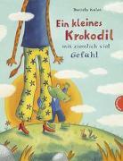 Cover-Bild zu Kulot, Daniela: Krokodil und Giraffe: Ein kleines Krokodil mit ziemlich viel Gefühl