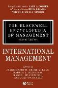Cover-Bild zu McNett, Jeanne (Hrsg.): The Blackwell Encyclopedia of Management