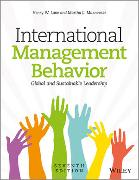 Cover-Bild zu Lane, Henry W.: International Management Behavior
