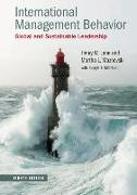 Cover-Bild zu Lane, Henry W. (Northeastern University, Boston): International Management Behavior