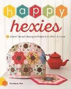 Cover-Bild zu Boutique-Sha Editorial (Hrsg.): Happy Hexies: 12 Hand Pieced Hexagon Projects to Stitch and Love