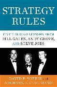 Cover-Bild zu Yoffie, David B.: Strategy Rules
