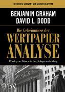 Cover-Bild zu Graham, Benjamin: Die Geheimnisse der Wertpapieranalyse