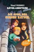 Cover-Bild zu Wagner, Jens I.: Die Spur der sieben Rätsel - Das erste Timmi Tobbson Rätselabenteuer Junior