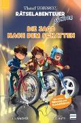 Cover-Bild zu Wagner, Jens I.: Die Jagd nach dem Schatten - Das dritte Timmi Tobbson Rätselabenteuer Junior