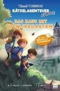 Cover-Bild zu Wagner, Jens I.: Das Haus mit dem Irrgarten - Das zweite Timmi Tobbson Rätselabenteuer Junior