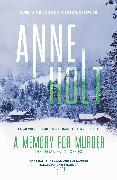 Cover-Bild zu Holt, Anne: A Memory for Murder