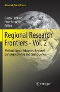 Cover-Bild zu Jackson, Randall (Hrsg.): Regional Research Frontiers - Vol. 2