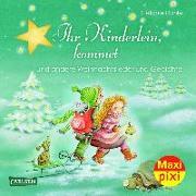 Cover-Bild zu Dahle, Stefanie (Illustr.): Carlsen Verkaufspaket. Maxi-Pixi 215. Ihr Kinderlein, kommet