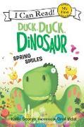 Cover-Bild zu George, Kallie: Duck, Duck, Dinosaur: Spring Smiles