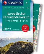 Cover-Bild zu Stummvoll, Gerhard: KOMPASS Wanderführer Europäischer Fernwanderweg E5, Von Konstanz nach Verona