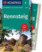 Cover-Bild zu Harnach, Klaus und Falco: KOMPASS Wanderführer Rennsteig