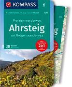 Cover-Bild zu Sturm, Astrid: KOMPASS Wanderführer Premiumwanderweg Ahrsteig mit Rotweinwanderweg. 1:35'000