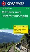 Cover-Bild zu Föger, Manfred: KOMPASS Wanderführer Mittlerer und Unterer Vinschgau
