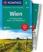 Cover-Bild zu Heriszt, Werner: KOMPASS Wanderführer Wien mit Wienerwald, Wein- und Waldviertel