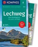 Cover-Bild zu Schäfer, Brigitte: KOMPASS Wanderführer Lechweg, Vom Quellgebiet bis zum Lechfall. 1:35'000