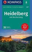 Cover-Bild zu Forsch, Norbert: KOMPASS Wanderführer Heidelberg mit Neckarsteig