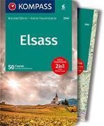 Cover-Bild zu Pollmann, Bernhard: KOMPASS Wanderführer Elsass
