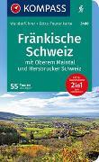 Cover-Bild zu Aigner, Lisa: KOMPASS Wanderführer Fränkische Schweiz mit Oberem Maintal und Hersbrucker Schweiz. 1:65'000