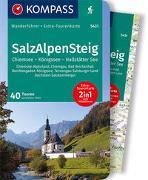 Cover-Bild zu Fella, Geraldine: KOMPASS Wanderführer SalzAlpenSteig, Chiemsee, Königssee, Hallstätter See. 1:55'000