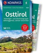 Cover-Bild zu Zahel, Mark: KOMPASS Wanderführer Osttirol, Venediger- und Glocknergruppe, Defereggental, Lienzer Dolomiten