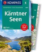 Cover-Bild zu Heitzmann, Wolfgang: KOMPASS Wanderführer Kärntner Seen. 1:75'000