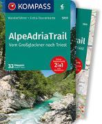 Cover-Bild zu Theil, Walter: KOMPASS Wanderführer AlpeAdriaTrail, Vom Großglockner nachTriest. 1:50'000