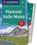 Cover-Bild zu Stimpfl, Oswald: KOMPASS Wanderführer Piemont, Valle Maira. 1:35'000