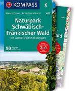 Cover-Bild zu Sippel, Werner: KOMPASS Wanderführer Naturpark Schwäbisch-Fränkischer Wald, Die Wanderregion bei Stuttgart