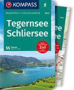 Cover-Bild zu Hüsler, Eugen: KOMPASS Wanderführer Tegernsee, Schliersee 5443. 1:40'000