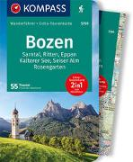 Cover-Bild zu Baumann, Franziska: KOMPASS Wanderführer Bozen, Sarntal, Ritten, Eppan, Kalterer See, Seiser Alm, Rosengarten. 1:45'000