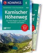 Cover-Bild zu Zahel, Mark: KOMPASS Wanderführer Karnischer Höhenweg, Von Thörl-Maglern nach Sillian, Mit Varianten und Gipfeln. 1:35'000