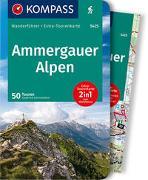 Cover-Bild zu Garnweidner, Siegfried: KOMPASS Wanderführer Ammergauer Alpen. 1:30'000