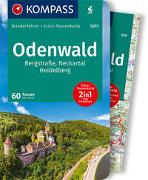 Cover-Bild zu Haan, Elke: KOMPASS Wanderführer Odenwald