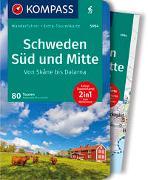 Cover-Bild zu Moczynski, Raphalea: KOMPASS Wanderführer Schweden Süd und Mitte, Von Skåne bis Dalarna. 1:50'000