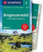 Cover-Bild zu Schäfer, Brigitte: KOMPASS Wanderführer Bregenzerwald und Großes Walsertal. 1:40'000