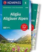 Cover-Bild zu Theil, Walter: KOMPASS Wanderführer Allgäu, Allgäuer Alpen. 1:40'000