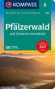 Cover-Bild zu Theil, Walter: KOMPASS Wanderführer Pfälzerwald und Deutsche Weinstraße. 1:55'000