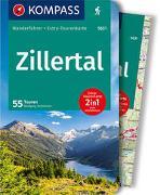 Cover-Bild zu Heitzmann, Wolfgang: KOMPASS Wanderführer Zillertal. 1:50'000