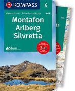 Cover-Bild zu Schäfer, Brigitte: KOMPASS Wanderführer Montafon, Arlberg, Silvretta. 1:50'000