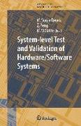 Cover-Bild zu Sonza Reorda, Matteo (Hrsg.): System-level Test and Validation of Hardware/Software Systems
